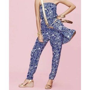 Lilly Pulitzer For Target Strapless jumpsuit small